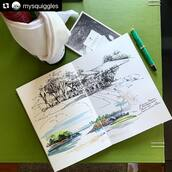 #Repost @mysquiggles with @make_repost ・・・ A sum up of a perfect birthday 🦚 at @capellasingapore   #mysquiggles_singapore #mysquiggles_sketch #capellasingapore  Sketchbook - @kovalsketchbooks  #watercolorsketchbook #kovalsketchbooks #sketchbookart #sketchbook #sketchbookartist #traveldiary #artdiary #keepingsane #watercolor #watercolour #watercolorart #arttravel #staycation #staycationsg #traveljournal #journaling #sketch #singaporeartist #singaporeart