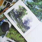 #Repost @katarzyna_kmiecik_art with @make_repost ・・・ [ENG below]  Kilka stosunkowo szybkich szkiców akwarelowych (zwłaszcza, jeśli weźmiemy pod uwagę fakt, że lubię robić jedną pracę kilkanaście godzin lub więcej 😝), które zrobiłam z myślą o nowej lekcji akwareli na malujzkrissem.pl 🙂  Kto nie może się już doczekać?  *** Some relatively quick watercolor sketches that I've made for the new watercolor lesson on malujzkrissem.pl (only in Polish this time, sorry!)